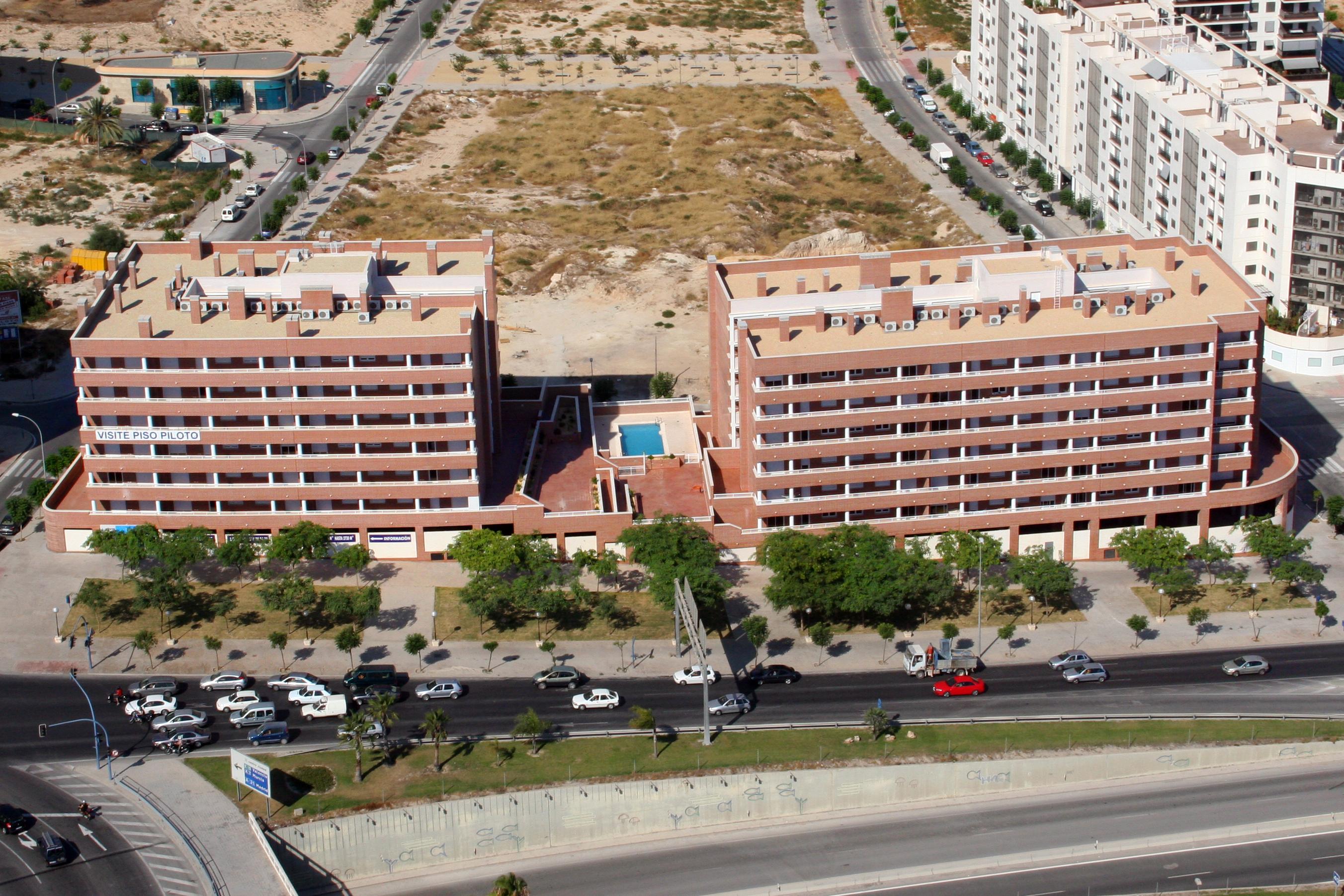 calle Club de fútbol Hércules-aerea-real